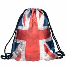 Buy 2017 New Print DrawString bag Casual Travel backpacks teenage girls women's backpack Rucksack mochila feminina#PD for $3.60 in AliExpress store