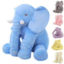 Buy 65 cm Large Kids Plush Elephant Toy Kids Sleeping Back Cushion Elephant Doll PP Cotton Lining Baby Doll Stuffed Animals for $19.82 in AliExpress store