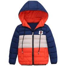 Синие зимние пальто и куртка для мальчиков детские куртки на молнии плотная зимняя куртка для мальчиков зимнее пальто высокого качества дл...(China)