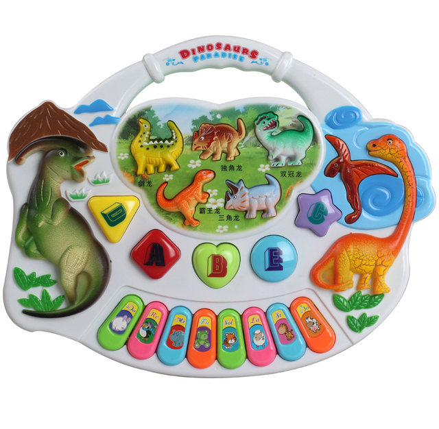 Orgatron children toy early learning toy animal piano band music