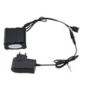 2 in 1 USB DC Connector 18650 Battery 12000mAh 8x18650 Rechargeable Battery Pack For Bike Lights