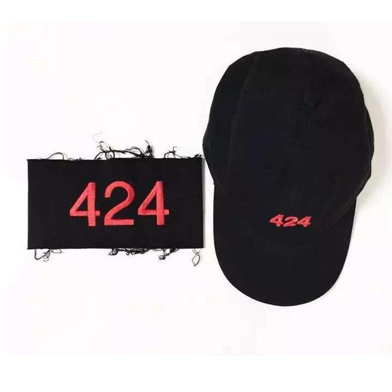 424 Cap + Armband Unisex Outdoor Fashion Baseball Cap Snapback Golf Sun Hats Bone Casquette Homme Men Women Gorras(China (Mainland))