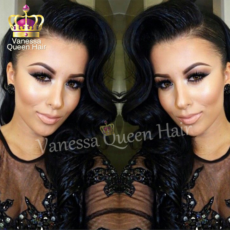 African American Wigs Body Wave Kanekalon Heat Resistant Synthetic Lace Front Wigs Wholesale Lace Front Wig Free Shipping<br><br>Aliexpress