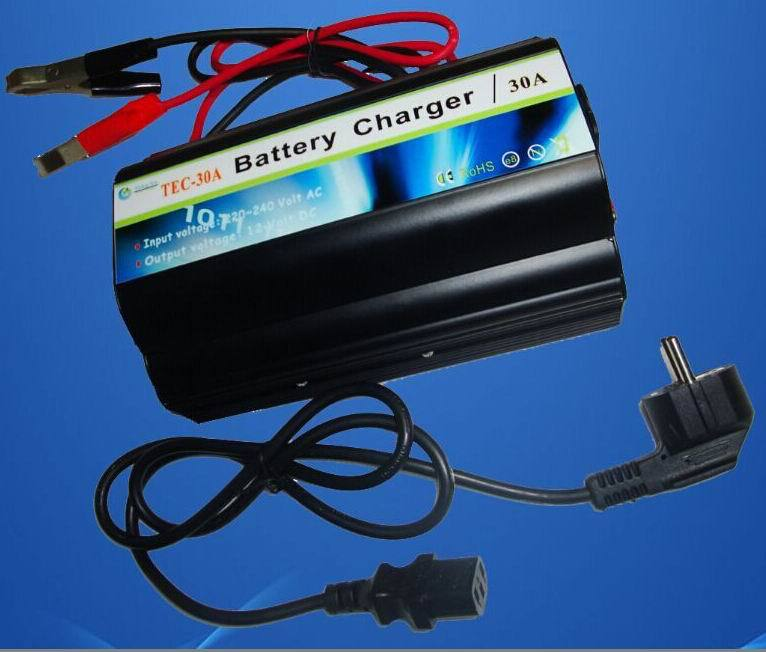 AC240v to dc 12v 30a acid battery charger with ce rohs(China (Mainland))