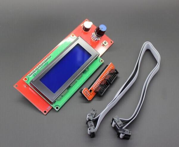 5sets lot Promotion 3D Printer Kit Reprap Smart Parts Controller Display Reprap Ramps 1 4 2004