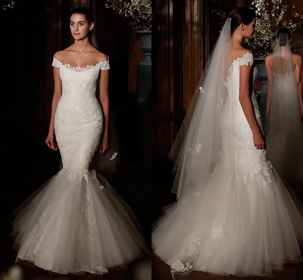 A Fishtail Wedding Dress : Fishtail designer wedding dresses dress uk