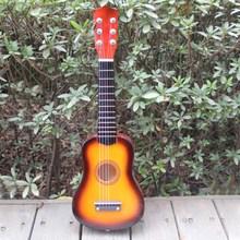 New 23 Inch Acoustic Children Toy Guitar for Kids Child Orange Medium Guitar(China (Mainland))