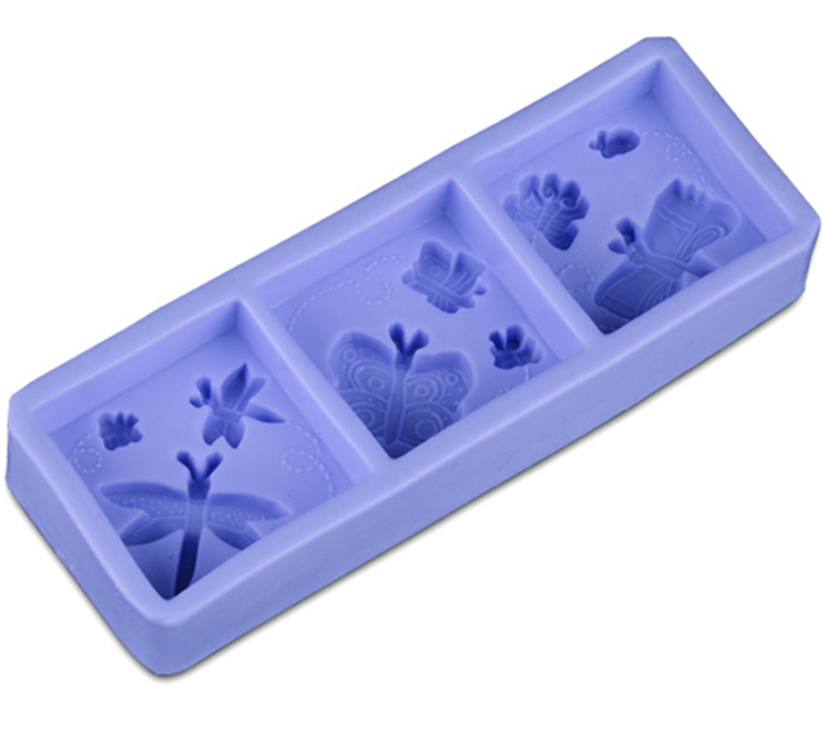 1pc 20*7*3cm Dragonfly Butterfly Silicone Cake Molds Non-Stick Lace Sugar Fondant Jelly Jello Ice Moulds Kitchen Tools F1645