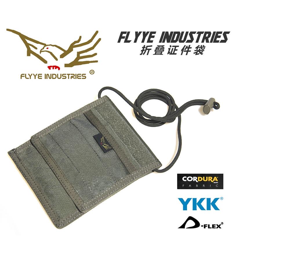 FLYYE FU-BG-A014 Folding credential card pocket bag belt lanyard fabric(China (Mainland))