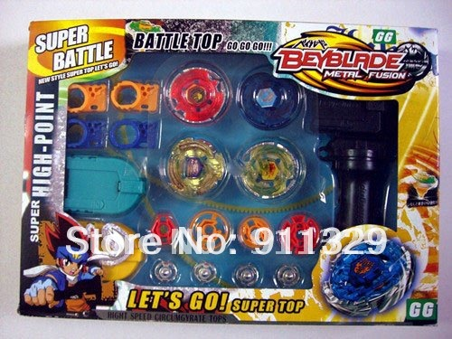 4 Pcs/set Classic Toys Beyblade Arena Spinning Top Metal Fight Beyblade Metal Fusion Children(China (Mainland))