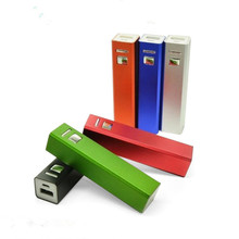 High quality 2600mAh power bank mobile phone external 18650 battery backup power protable charge&powerbank for iphone