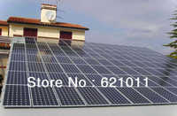 20KW solar system,home solar power system include solar panel, inverter and other parts, battery bank can be added
