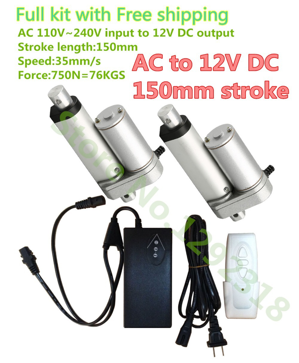 12V DC wireless control system 12V DC linear actuators remotes controller for home appliance etc.(China (Mainland))