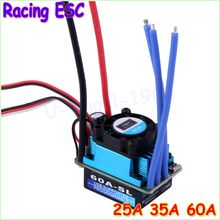 Buy Wholesale 1pcs Racing 25A 35A 60A SL Brushless Speed Controller ESC RC 1/10 1:10 1:12 Car Truck Drop freeship for $10.68 in AliExpress store