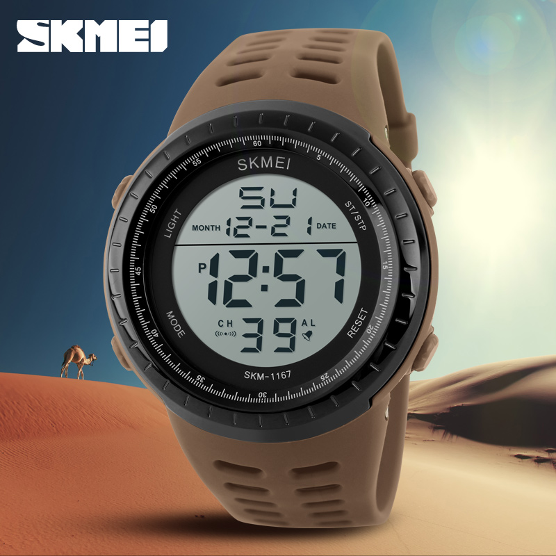 SKMEI Fashion Brand Shock Resistant Watch Outdoor Men Military Watches Men's LED Digital Watch Casual Sports Men's Wristwatches(China (Mainland))
