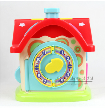 New Year Baby Toys Funny Intelligence House The Best Selling Buliding Block For Child Play
