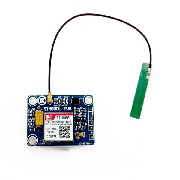 New SIM800L GPRS GSM Module w/ PCB Antenna SIM Board Quad band for MCU for Arduino(China (Mainland))