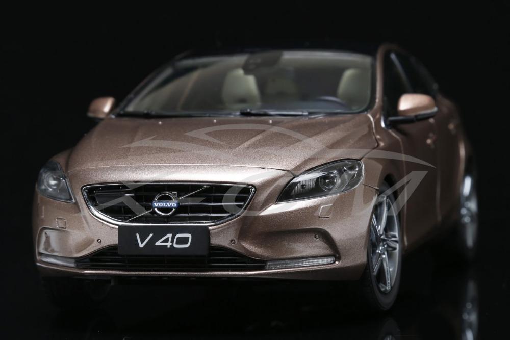 Diecast Car Model Volvo V40 1:18 (Gold) + SMALL GIFT!!!!!!!!!!!(China (Mainland))
