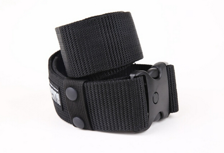 Outdoor 5.5cm Wide Canvas Belts Western Military Equipment Belts For Men Waistband Army Strap Plastic Buckle Belt Long 130cm(China (Mainland))