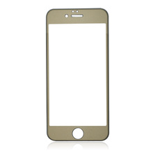For IPhone6s 4.7 inch Titanium alloy frame Tempered Screen Protector Anti-Scratch /Anti-Shatter/Bubble Free/Touchscreen Accuracy