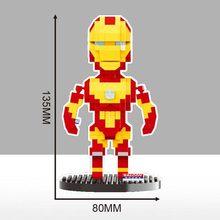 2019 chegam novas Super Heroes Hulk Thor spiderman Batman Infinito Lutador pantera negra Diamante Building Blocks brinquedos para presentes(China)