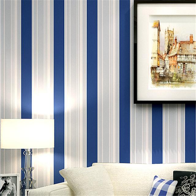 Aliexpress.com : acquista moderno blu rotolo strisce carta da ...