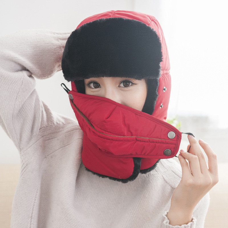 Bike Cap Outdoor Sports Cycling Thermal Neck Balaclava Hat Winter Windproof Skiing Ear Warm Mask Motorcycle Bicycle Scarf