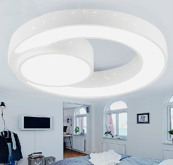 New Design Ceiling Lights : New design w iron led ceiling light acrylic modern round
