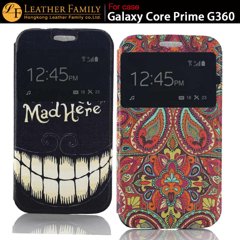 Original For Samsung Galaxy Core Prime case,with window ...