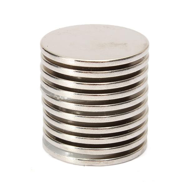Гаджет  10PCS 25mm x 2mm N35 Strong Round Rare Earth Neodymium Magnet Magnets None Строительство и Недвижимость
