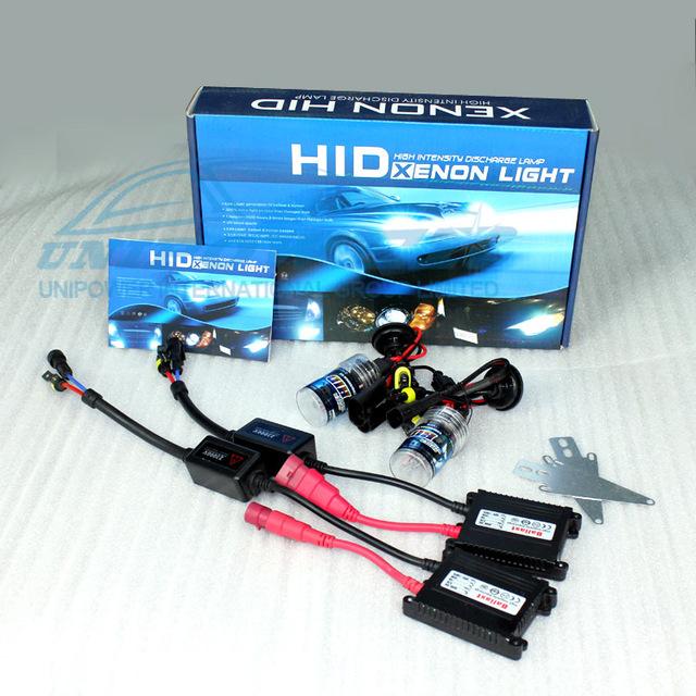 free shipping cheap price HID xenon kit with slim ballast single lamp 12v 35w 3000K 4300K 5000K 6000K 8000K 10000K12000 30000K