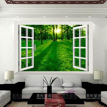 murale soggiorno tv parete decorazione della parete carta da parati ...