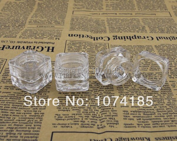 5g Empty bottles cosmetic containers jars sample plastic jar lid mini container 10 - Pirlo International Trading (Shanghai store Co., Ltd)
