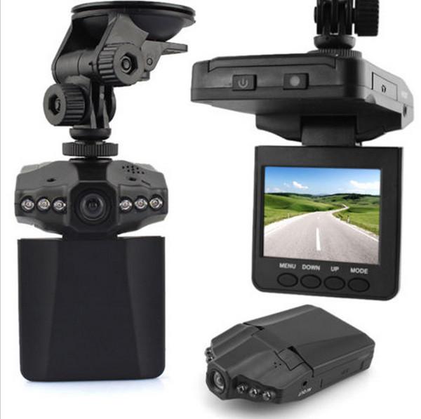 Hot Sale Car Recorder HD IR DVR NightVision Car Dash Camera 2.5inch TFT LCD Screen Road Recorder CASP Free Shipping(China (Mainland))
