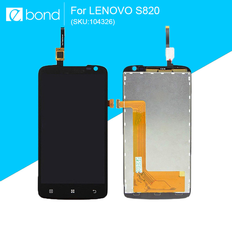 LCD For LENOVO S820 Display with Touch Screen Digitizer 4.7 inch ORIGINAL NEW