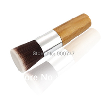 2014 NEW,high quality top Goat hair Flat brush POWDER BRUSH Cosmetic facial Brush makeup brushes free shipping