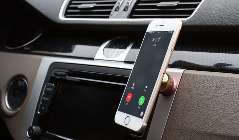 Car Sucker Phone Stand Holder Navigate Case For iPhone 5S 6S Plus For Samsung Galaxy S5 S6 360 Rotating Socket Windshield Mount