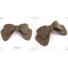 Fashion Women Hair Accessories Wholesale!New Arrival Bow Hairpins,Designer All Match Hair Barrettes, Girl'S Trendy Hairggrips(China (Mainland))