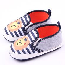 Baby Newborn Shoes Anti Slip Kids Shoes Cartoon Prewalker Soft Bottom Bebe Infant Shoes First Walkers Fashion Shoes(China (Mainland))