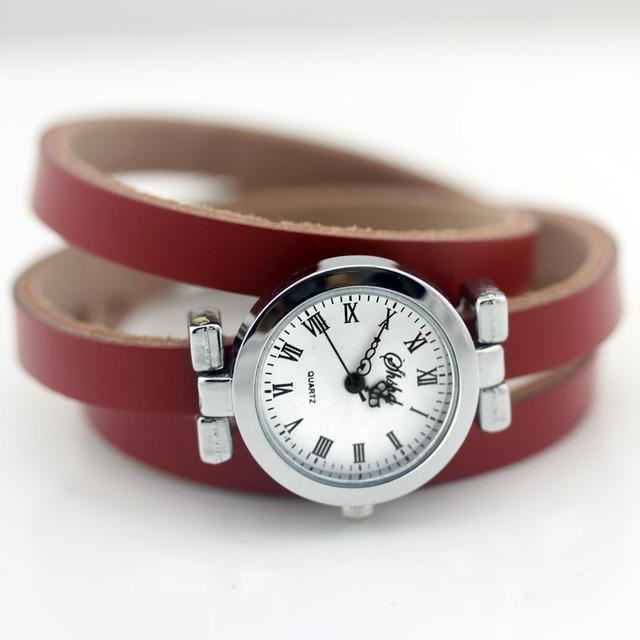 Zegarek damski długa bransoletka styl vintage różne kolory
