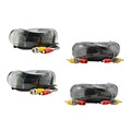 ANNKE SANNCE 4pcs 100ft 30M CCTV Cable BNC DC plug cable For CCTV Surveillance Camera and