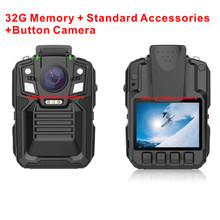 Upgrade to A7, Free Shipping, SOP-02 HD1296P30/1080P60 Body Cameras Auto Infrared Night Vision HD Police Body Camera(China (Mainland))