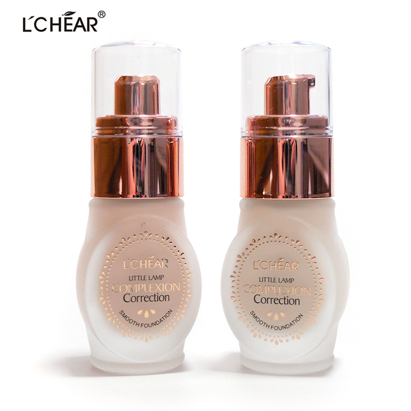 little lamp complexion correction smooth foundation base makeup fond de teint cream minerals cosmetic fond de teint contouring(China (Mainland))