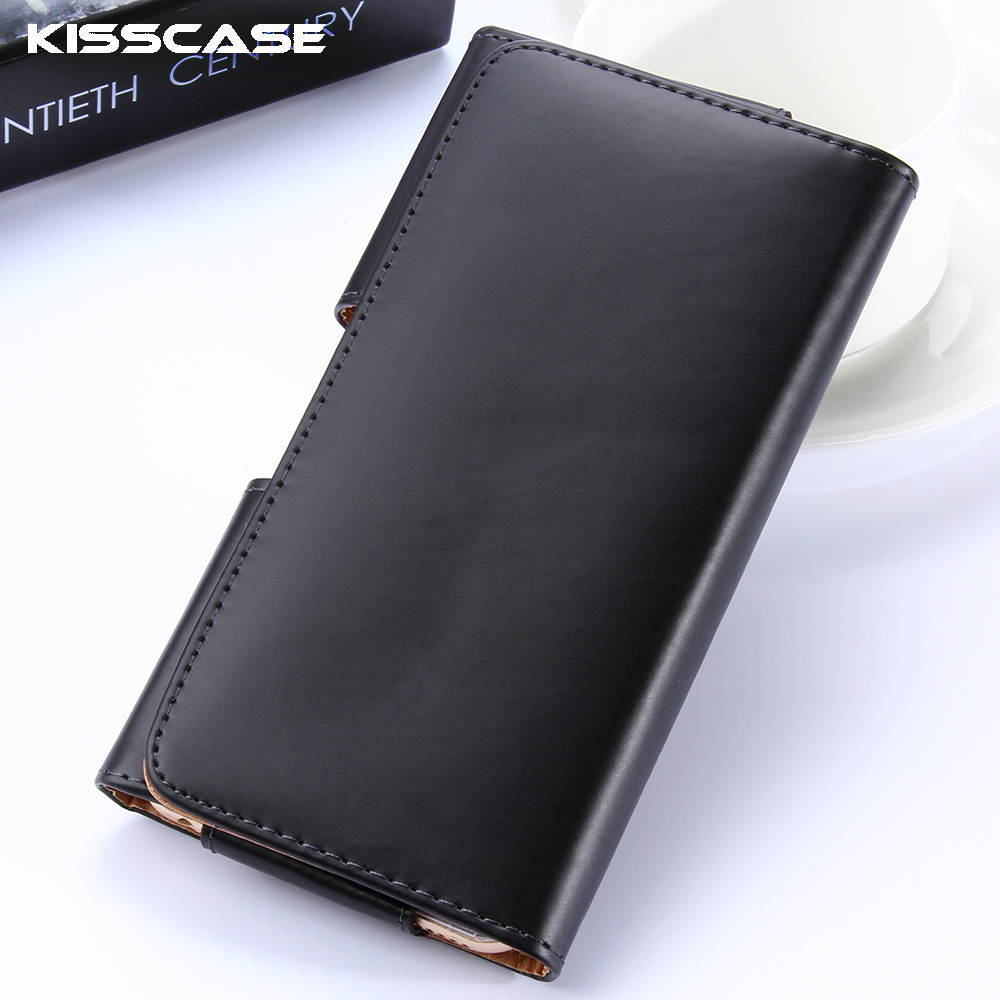 KISSCASE 4.7 inch Universal Belt Clip Leather Phone Case iPhone 6 6s Mini Hang Waist Bag Huawei P9 Plus Xiaomi - RCD Trading Company store