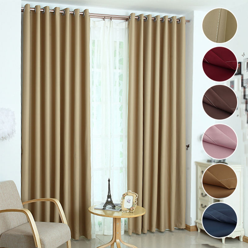 2015 luxury modern shade blinds window blackout curtains for kitchen