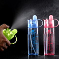 Creative Water Spray Cup Cool Beauty Sports Bottle Canteen Cycling A Spray Bottle Space Cup Atomizing