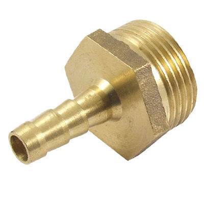"""Male Thread 5/16"""" Air Water Hose Brass Barb Fitting Coupler Adapter"""