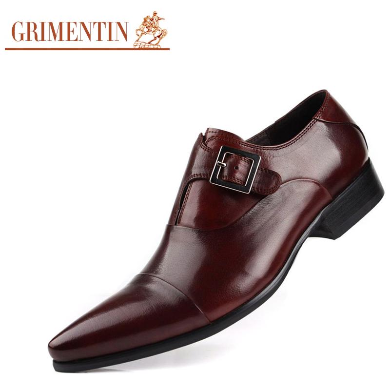 Aliexpress.com : Buy Luxury Mens Dress Shoes Genuine ...