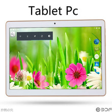 10 Inch  Phone Call Android Quad Core Tablet pc Android 4.4 2GB 16GB WiFi  3G External GPS FM Bluetooth 2G+16G Tablets Pc(China (Mainland))