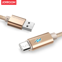 JOYROOM Micro USB Cable Fast Charging Mobile Phone Cable 5V2A Breathing lamp Data Sync Charger for Xiaomi LG SONY mobile phones
